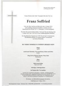 Hr. Franz Soffried