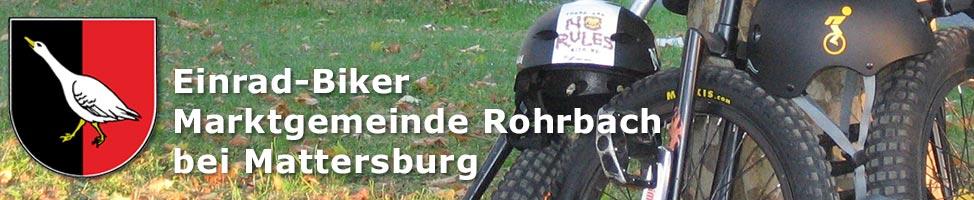 Einrad-Biker Rohrbach