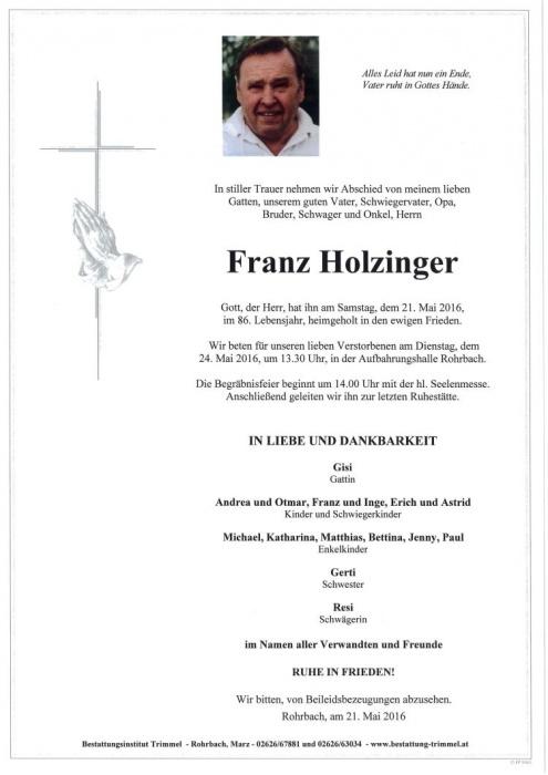 HolzingerFranzII