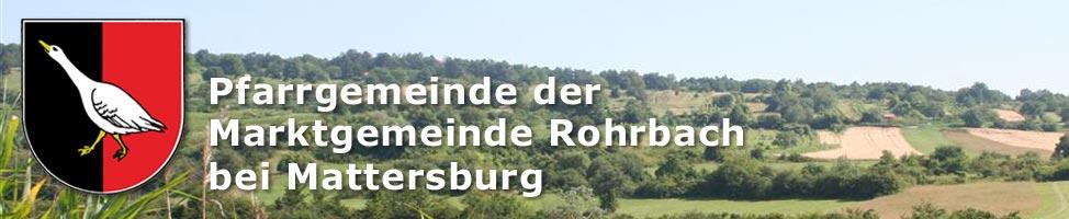 Bild der Kirche von Rohrbach bei Mattersburg