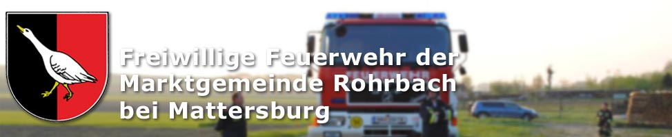 Bild der Feuerwehr Rohrbach bei Mattersburg