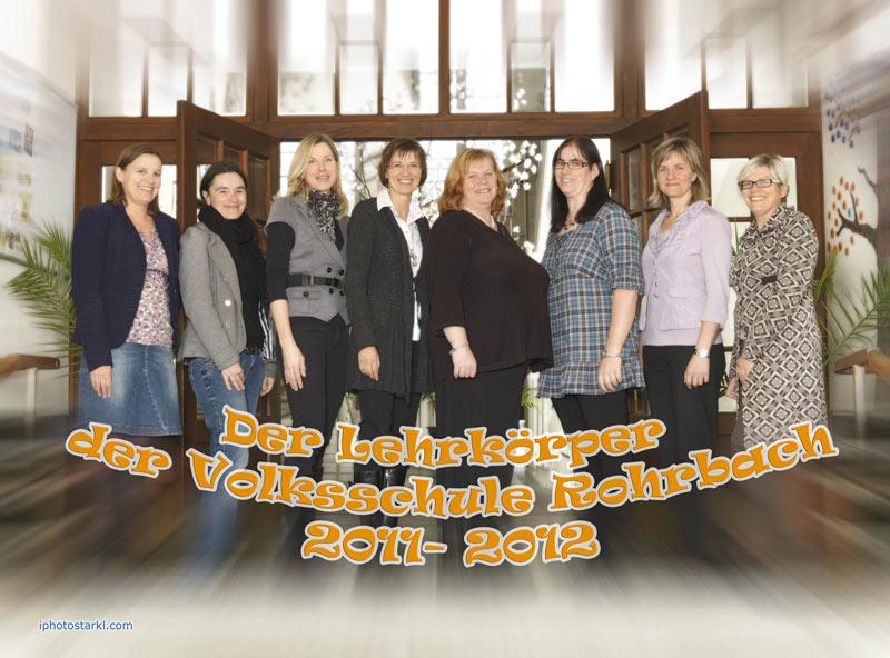 Lehrkörper Volksschule Rohrbach bei Mattersburg
