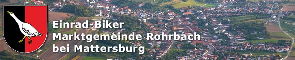 Einrad-Biker in Rohrbach