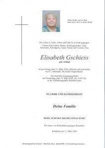 Elisabeth Gschiess