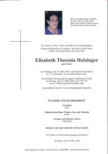Elisabeth Holzinger