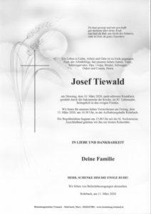 Josef Tiewald