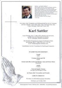Karl Sattler