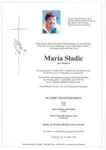 Maria Sladic