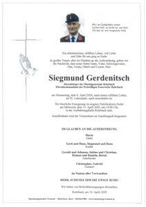 Siegmund Gerdenitsch
