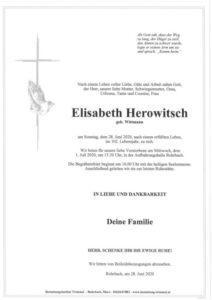 Elisabeth Herowitsch