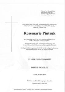 Rosemarie Pintsuk