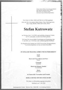 Stefan Kutrowatz