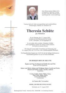 Theresia Schütz