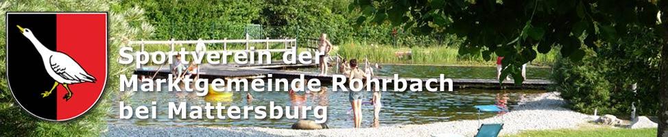 Der Sportverein der Marktgemeinde Rohrbach bei Mattersburg